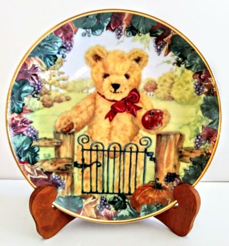 """Franklin Mint Heirloom Collection 8"""" Plate """"TEDD"""
