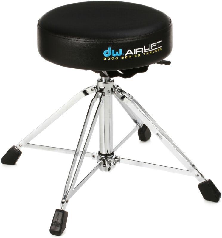 DW 9000 Series Drum Throne - Round Seat - Air LIft