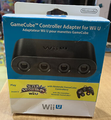 GAMECUBE CONTROLLER ADAPTER FOR WII U - NUEVO NEW