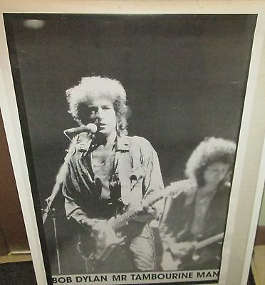BOB DYLAN RARE NEW POSTER MID 2000'S VINTAGE COLLECTABLE MR. TAMBOURINE MAN