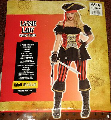 Sexy Damen Karneval Kostüm Gr. M Piratenbraut Lassie Lady Fasching - Sexy Piraten Lady Kostüm