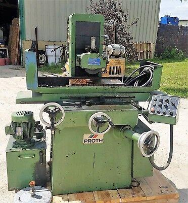 10 X 20 Proth Hydraulic Surface Grinder Psgs-2550ah 220440v Wheel Dresser
