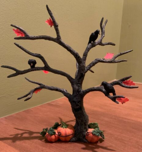 Department 56 Halloween Spooky Tree #52770 village accessories