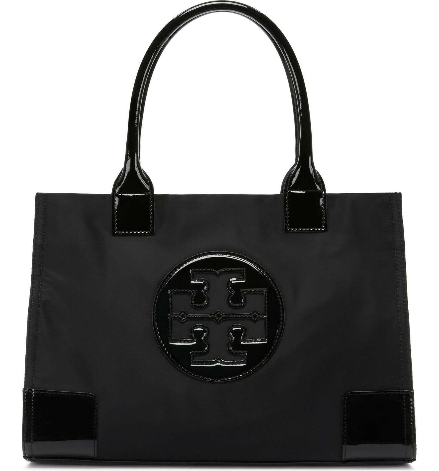 Tory Burch Women's Ella Mini Nylon Top-handle Bag Tote - Blackblack