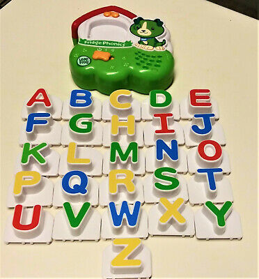 Learning Path Leap Frog Fridge Phonics Alphabet Complete Magnetic Set