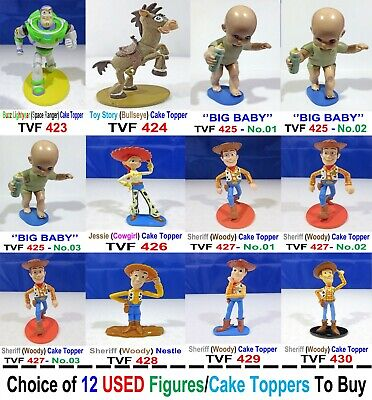 Disney/Pixar Toy Story Character Figures Cake Toppers Choice of 12 Select To - Buzz Lightyear Buy