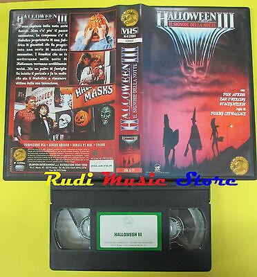Halloween Iii Film (VHS film HALLOWEEN III Il signore della notte 1996 SKORPION A/71 (F23) no dvd)