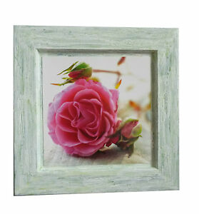 cadre en bois deco la roses cadeau anniversaire fait main ebay. Black Bedroom Furniture Sets. Home Design Ideas