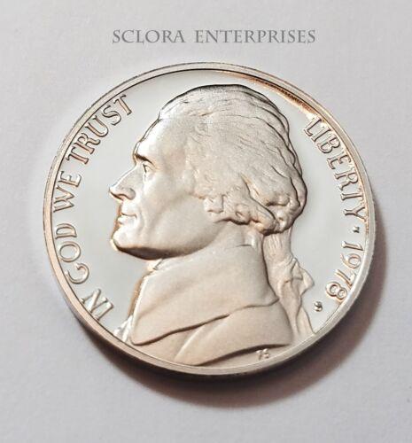 1978 S Jefferson *PROOF* Nickel  **FREE SHIPPING**
