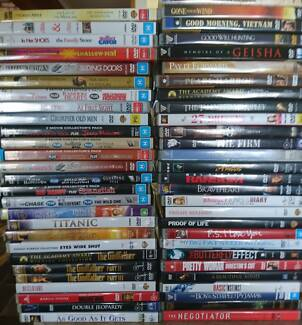 480+ Assorted DVD Movie Bundle (Action, Thriller, Drama, Comedy)