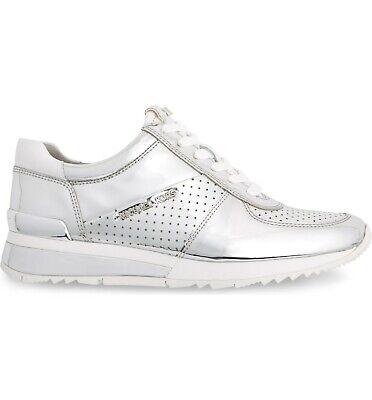 Michael Kors Women's Allie Metallic Wrap Trainer Sneakers Sh