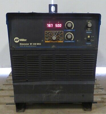 2011 Miller Dimension Nt-450 Dc Multi Process Mig Tig Stick Arc Welder