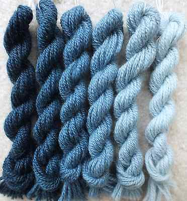 510 Family Old Blue Paternayan Persian Needlepoint Wool   3 Ply   48Yd Total