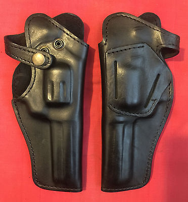 Used, Black Leather RH Holster for M1895 Nagant revolver formed molded, New, Rare for sale  Shipping to Canada