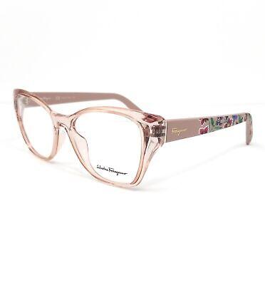 Salvatore Ferragamo Eyeglasses SF2827 290 Nude Cat Eye Women 53x16x140