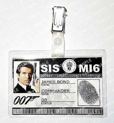 James Bond 007 Pierce Brosnan Prop FancyDress Cosplay Costume ComicCon Halloween