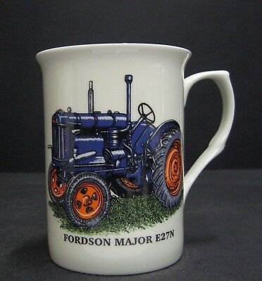 FORDSON MAJOR E27N TRACTOR Fine Bone China Mug Cup Beaker for sale  Shipping to United States