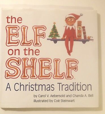 Hardcover Book -Elf on the Shelf:A Christmas Tradition By Carol V Aebersold- - Elf On The Shelf Adults
