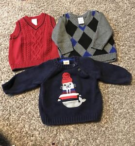 3-6 Months Baby Boy Sweaters