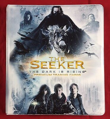Inkworks The Seeker The Dark is Rising Card Binder Brand New Album Looseleaf