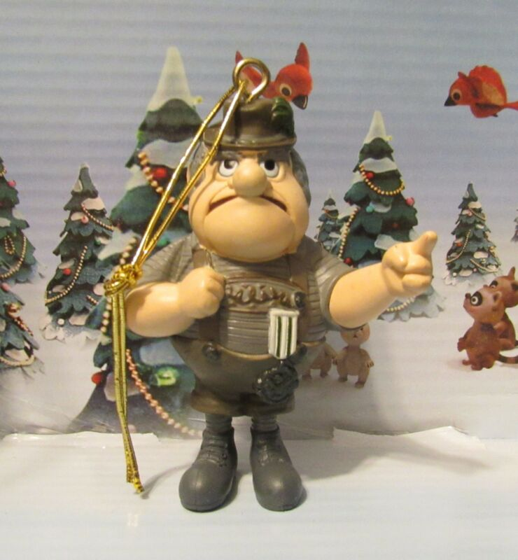 Santa Claus is Coming to Town Burgermeister Meisterburger Ornament