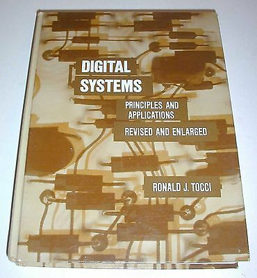 Vintage Digital Systems Principles   Applications Ronald J  Tocci