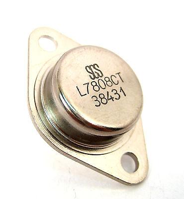 L7808ct Voltage Regulator 8-volt 1.5 Amp To-3 Hard To Find Type Great Price