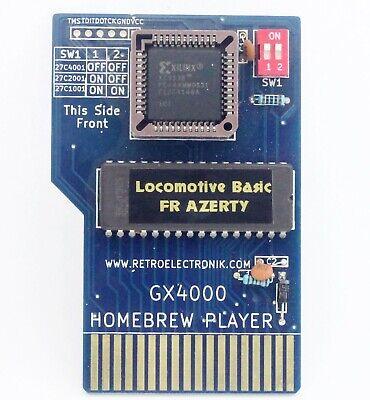 Cartouche Locomotive Basic FR + B Rubber pour Amstrad CPC+ CPC 464...