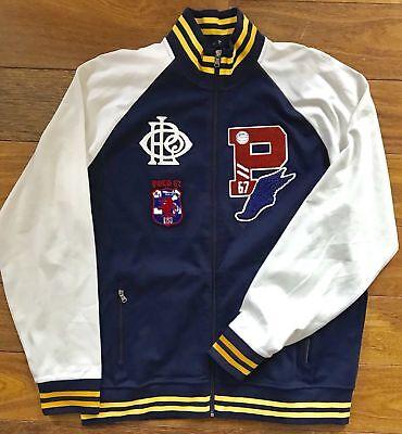 Polo Ralph Lauren Snow Bear Stadium P Wing CP Letterman Track Varsity Jacket XL