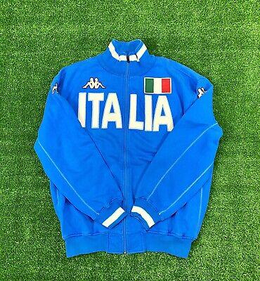 VTG Kappa  Italia Full Zip Neck Sweatshirt XL