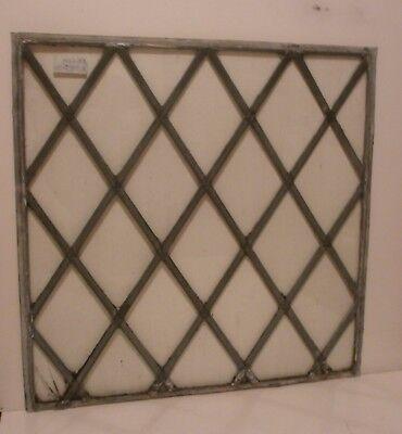 antique diamond leaded glass