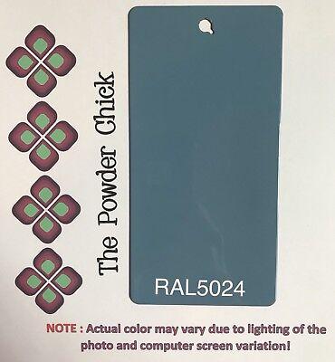 Ral 5024 4944660 Pastel Blue Powder Coating Paint 1lb Bag New