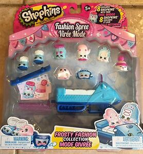 Shopkins Frosty Fashion Collection - Brand new