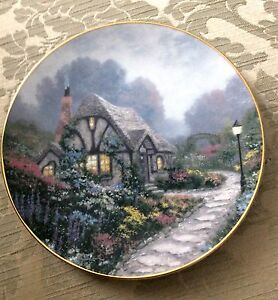 Chandler's Cottage and Cedar Nook Cottage Limited Edition Plates