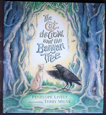 The Cat, the Crow and the Banyan Tree by Penelope Lively c1994, Hardcover, (The Cat The Crow And The Banyan Tree)