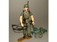 "1:18 Ultimate Soldier Vietnam U.S Army Navy Seal LRRP Boonie Hat for 4/"" Figures"