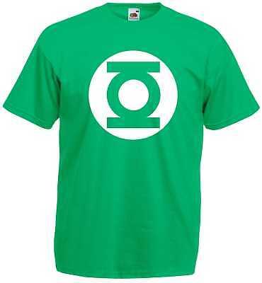Big Bang Theory Green Lantern T-Shirt S-XXL