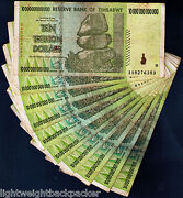 Zimbabwe 100 Trillion Dollar
