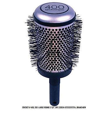 Cricket Technique # 400. Barrel Hair Brush, Round 2 1/2