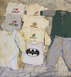***Organic Baby Clothes 2-4 (fits 3-6 months)***