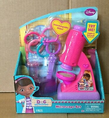 Doc Mcstuffins Set (Doc McStuffins  Microscope Set )