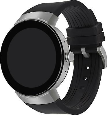 Movado Men's 3660016 Connect Smartwatch Androis IOS Black Leather Watch