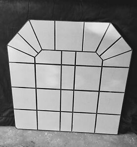 Tile stove base