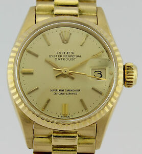 ROLEX-OYSTER-PERPETUAL-DATEJUST-18K-GOLD-LADY