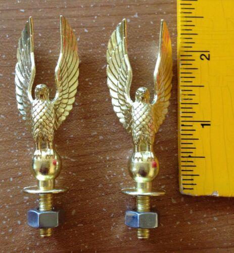 Metal Eagles - Trophy Parts - Crafts - Repurpose - Vintage Look - Hood Ornament