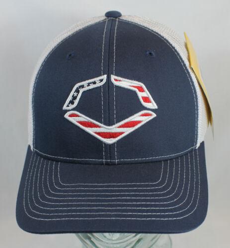 EvoShield USA Flag Logo Flexfit Mesh/Trucker Baseball Hat/Cap WTV103532041 L/X