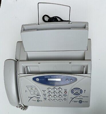 Brother Intellifax 885mc Plain-paper Fax Machine With Message Center Copier
