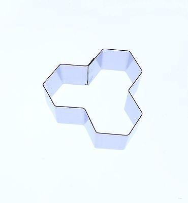 Tile Pattern #2 Cutter - Stainless Steel - Mosaic Pattern Retro Geometric