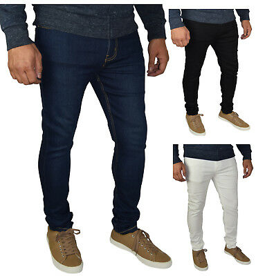 Mens Skinny Fit Super Stretch Jeans ()