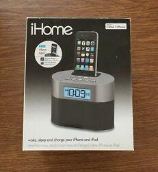 iHome Dual Alarm Clock Radio for iPhone/iPod USB Dock